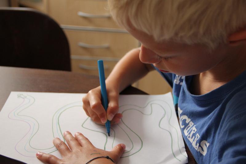 Dětská kresba a význam kresby postavy