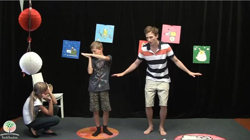 Hra Jsem beru :: Vysvětlení nápadité pohybové hry pro 3 a víc