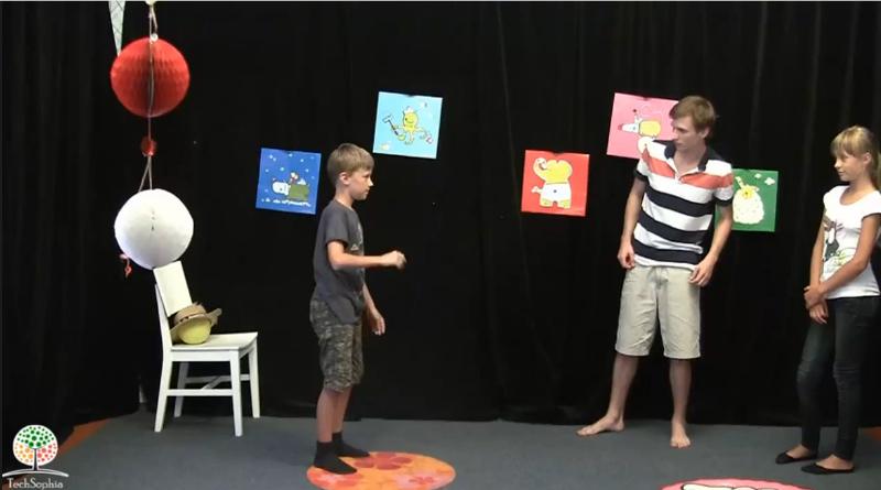Hra Mimování :: Vysvětlení tvořivé pohybové hry pro 3 a víc