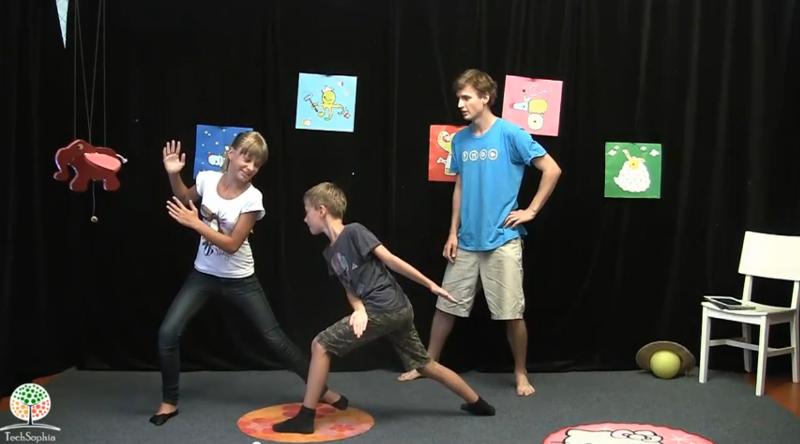 Hra Ninja :: Vysvětlení pohybovky pro 2 a víc hráčů